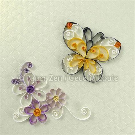 quilling tutorial free pdf quilling flowers pdf pattern tutorial by paperzenshop on