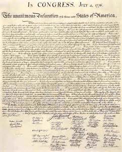 the declaration of independence a parody
