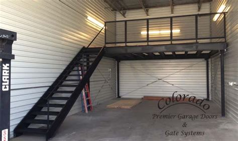 loft garage custom metal fabrication photos denver garage door repair automatic driveway gate systems