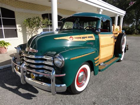 1950 chevrolet 3100 custom woody retro f wallpaper