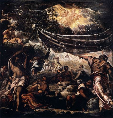 The Miracle Of The Miracle Of Manna By Tintoretto