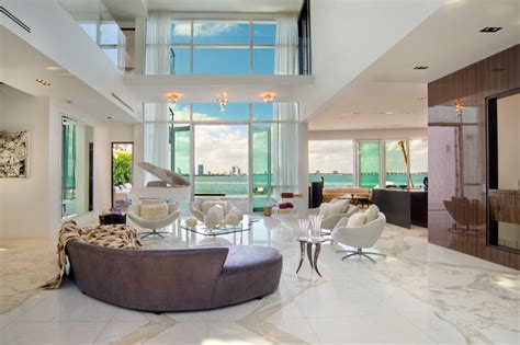 living room miami beach opulent villa valentina in miami beach
