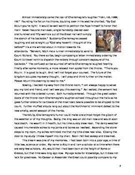 Charlemagne Essay by Charlemagne Historical Fiction Reading Essay And Primary Source Sles