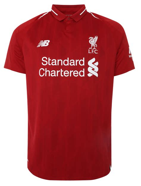 liverpool kit new liverpool kit liverpool fc shirt uksoccershop 2018 19 lfc home kit revealed pre order now liverpool fc