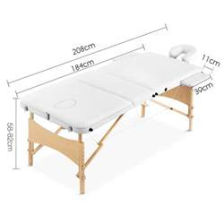 wooden portable folding massage table w foam cover buy