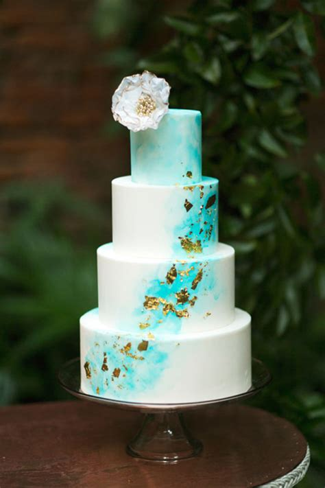 aqua green wedding ideas aqua and gold wedding ideas aqua wedding 100 layer cake