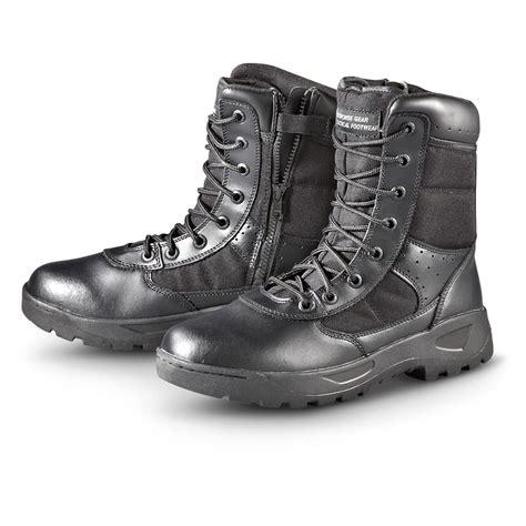 mens black tactical boots s response gear 174 tactical boots black 222018