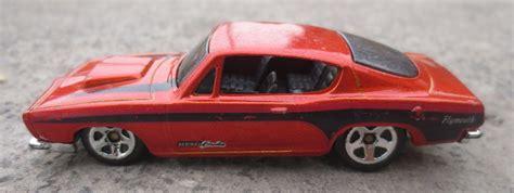 Hotwheels 68 Plymouth Hemi Cuda wheels barracuda 68 hemi cuda de coleccion 100