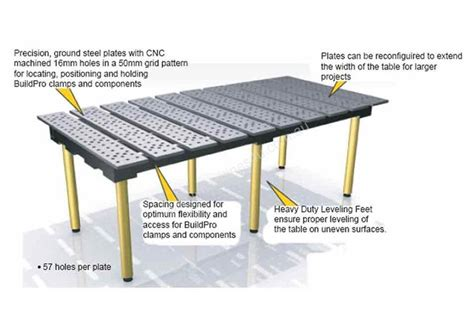 welding jig table new vs7552 work benches in