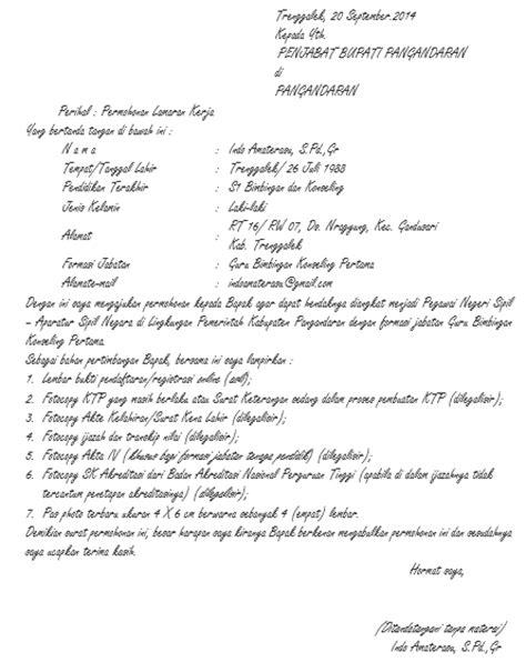 contoh surat lamaran kerja bahasa inggris dibidang