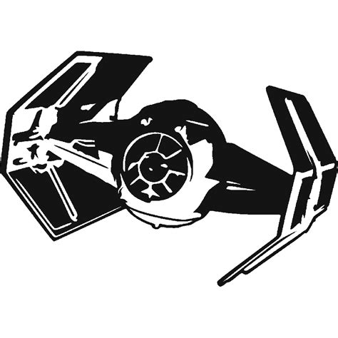 Auto Sticker Star Wars by Stickers Star Wars Vaisseau 2 Art Stick
