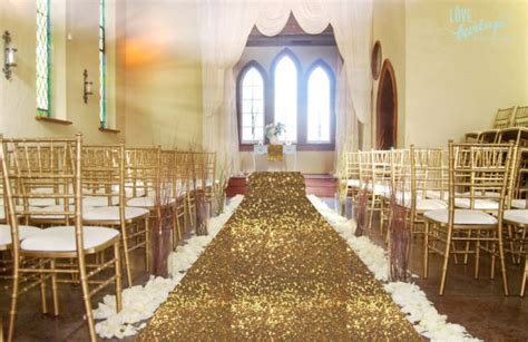 Wedding Aisle Runner Decorations by Gold Sequin Wedding Aisle Runner 4x15ft Carpert Aisles
