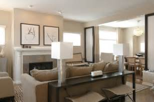 Hickory And White Sofa by 13 Decorating Tips To Making A Large Room Feel Cozy