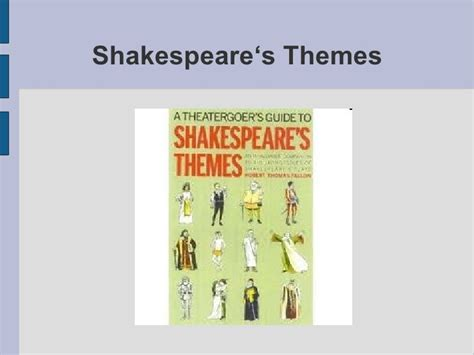 themes hamlet shakespeare shakespeare s themes1 by lukas