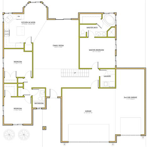 1 utah homes floorplan