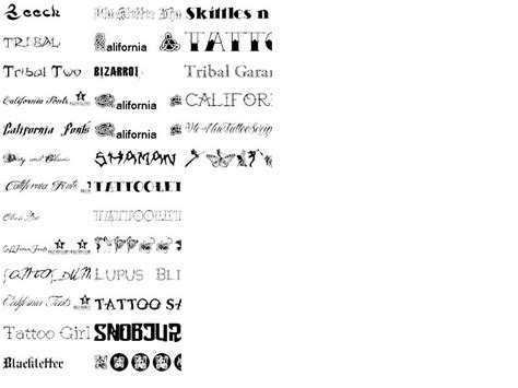 tattoo fonts for dates font pack this collection contains 32 free