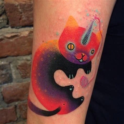 cat unicorn tattoo unicorn kitty tattoo best tattoo ideas gallery