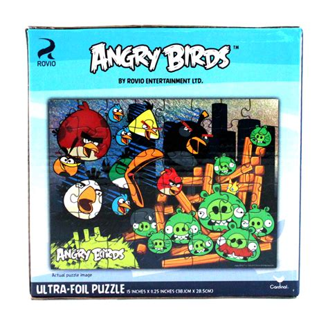 puzzle angry birds 48pc angry birds jigsaw puzzle 15in ultra shiny foil
