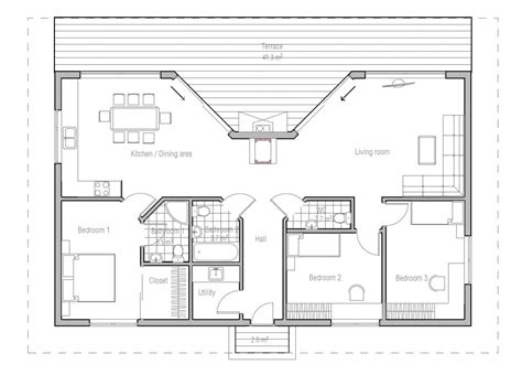low cost to build house plans affordable home ch137 floor plans with low cost to build