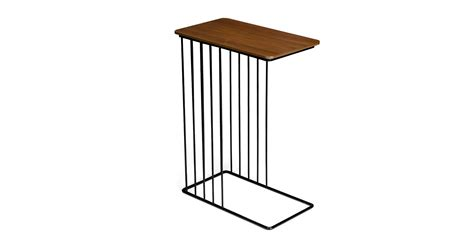 Grainy Stool by Whyr Walnut Side Table Coffee Tables Article Modern