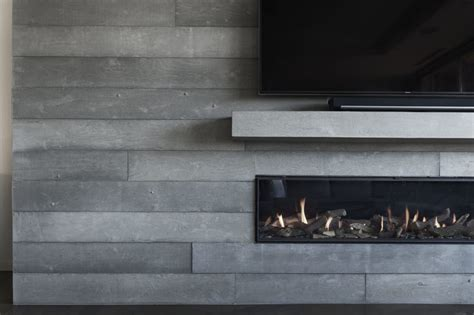 What Cement To Use For Fireplace by Board Formed Concrete Fireplace Toronto Anthony