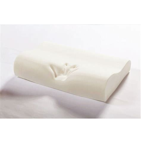 Firm Memory Foam Pillow by Orthopaedic Memory Foam Contour Pillow Firm Neck