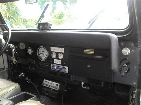 Jeep Yj Dash Jeep Yj Dash Conversion My Jeeps Jeep