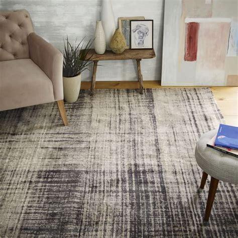 mid century modern area rugs mid century abrash rug west elm