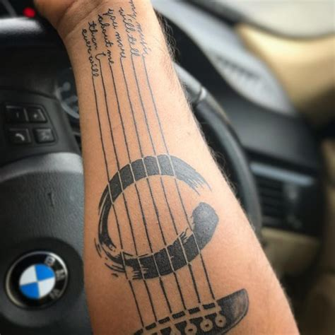 musical instruments tattoo designs 75 best designs meanings notes