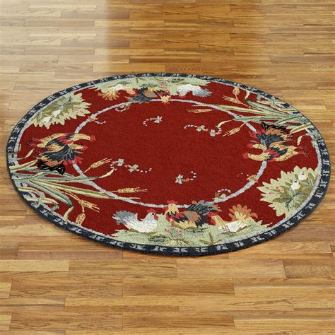 rooster rug rooster and hens rugs