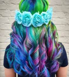 rainbow color hair ideas 16 rainbow hair color ideas you ll go crazy over