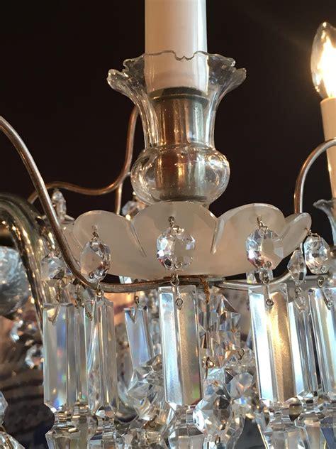lustres en cristal lustre en cristal de baccarat paul bert serpette