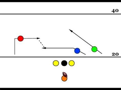 seven plays wr pitch 7 on 7 flag football play youtube