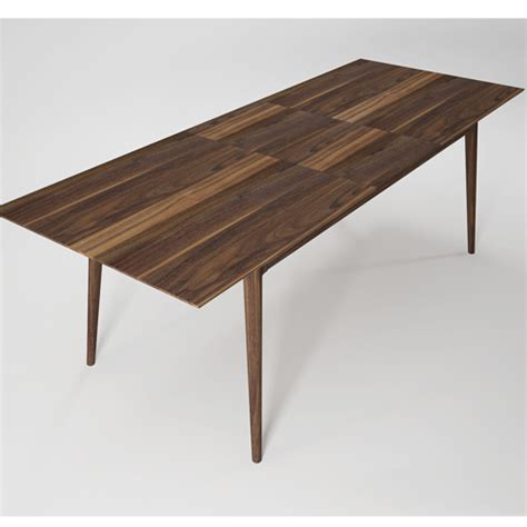 hans extendable walnut dining table gogo fy