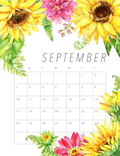 flower design kalender free printable 2017 floral calendar the cottage market