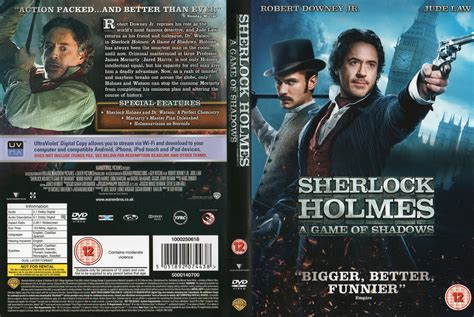 dvd format for uk sherlock holmes a game of shadows 2011 r2 movie dvd