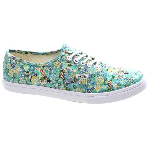 Diskon Vans Authentic Lo Pro Ditsy Floral Pool Green Original authentic lo pro ditsy floral pool green shoe w7nfe6