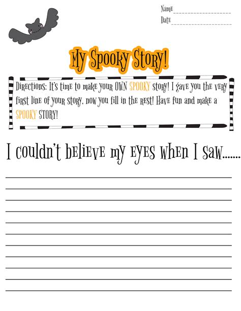 4th grade writing prompts for fun spelling and language practice halloween writing activities for 2nd graders halloween