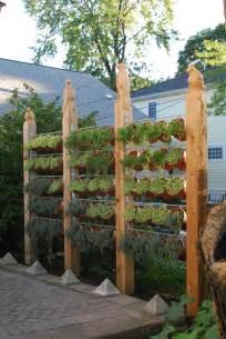 Vertical Garden Fence - garden fences dirt simple