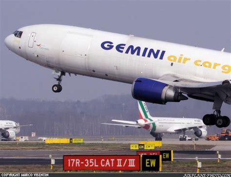 photo gemini air cargo mcdonnell douglas md 11f