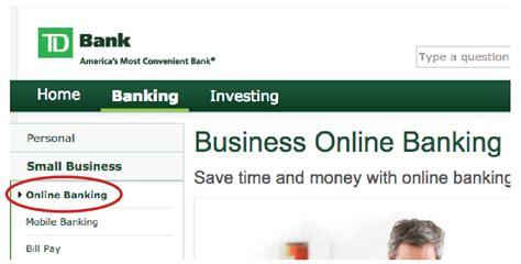 reset online banking password td td bank statement download instructions ondeck