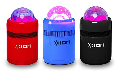 ion speaker with lights ion wireless speaker with lights groupon goods