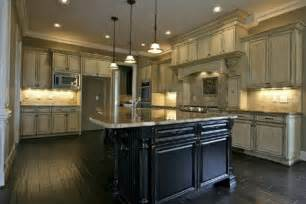 Antique Off White Kitchen Cabinets off white kitchen cabinets with black island home design ideas