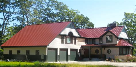 colonial roof colonial red drexel metals standing seam metal roofing blog