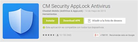 security apk descargar cm security apk