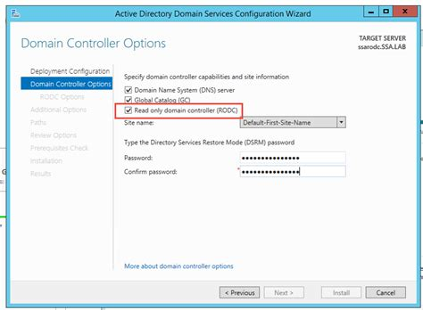 configuring read  domain controller  practices