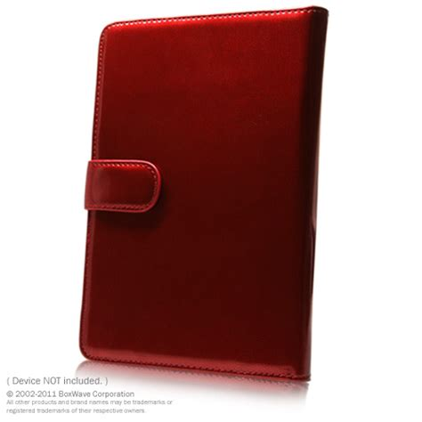 nook color cases ruby patent leather elite nookcolor synthetic