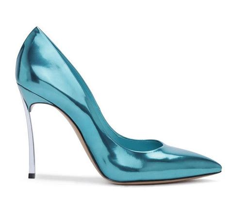 sky blue high heels sky blue patent leather high heels solid color