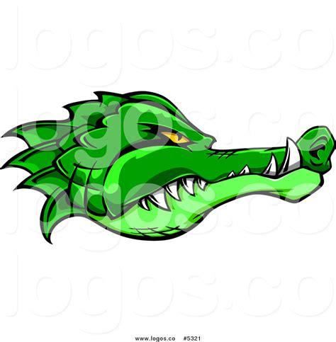 logo black and white crocodile alligator clip 48