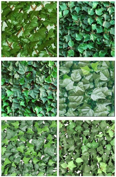 imagenes de mallas blancas cercados con enredaderas artificiales para jardines verdes